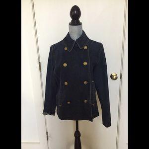RL Polished looking denim jacket